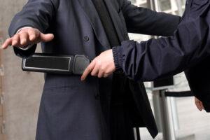 Enhancing hotel security with metal detectors